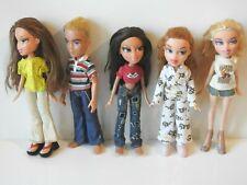 Bratz Doll Bundle - 5 x Dolls Including Boyz With Clothes & Accessories