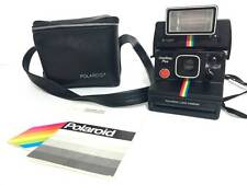 Polaroid One Step Plus Land Camera With Q-Light and Case Not Tested As-Is