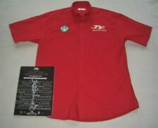 More details for isle of man tt shirt issued to govt. minister in charge 2007 centenary tt - coa