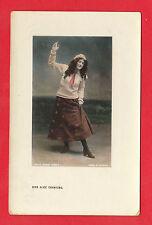 EDWARDIAN  POSTCARD  -  ACTRESS  -  MISS  ALICE  CRAWFORD  -  1908