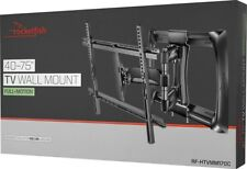 "NEW Rocketfish Full Motion TV Wall Mount RF-HTVMM170C  40"" - 75""  up to 100 lb"