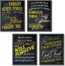 North Star Christian Sunday School Forgiveness Bulletin Board 4 Pc. Set