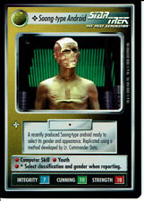 STAR TREK CCG TOURNAMENT FOIL, SOONG-TYPE ANDROID