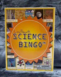 Lucy Hammett's SCIENCE BINGO Game #2177 Brand NEW Sealed