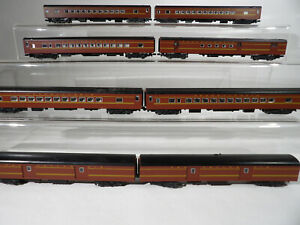 8 Car Kato Pennsylvania Passenger set ( No Boxes )