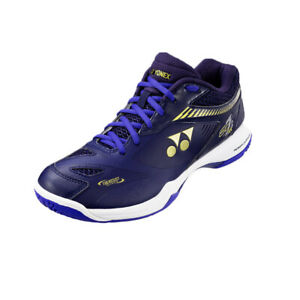 Yonex Men's Power Cushion 65Z2 Wide Badminton Shoes Athletic Navy SHB-65Z2MEX