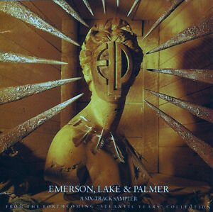 EMERSON LAKE & PALMER - A SIX TRACK SAMPLER - 1992 PROMO CD rare  - PRCD 4599 2