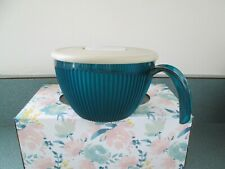 TUPPERWARE 5201 Green 2 Cup Vent Lid Handle Soup Mug