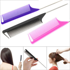 Fine-tooth Hairdressing Hair Brush Hair Tail Comb Styling Tool Pin Tail Combs