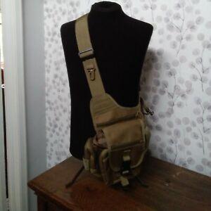 Kombat UK Tactical Shoulder Bag 7 Litre Khaki