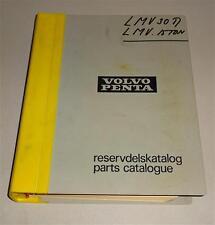 Parts catalog/reservdelsktalog Volvo Penta barco motor d 42-TD 120 ak 10/1975