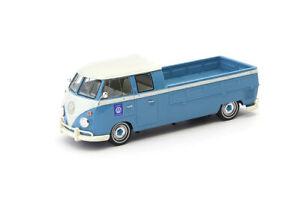 1:43 Scale Autocult 07008 Volkswagen T1 Doka Double-Cab Long Wheelbase Pickup