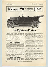 1912 Paper Michigan 40 Car  Goodyear Tires  10 per cent Oversize Akron OH