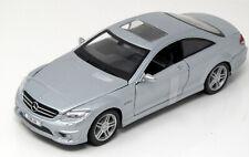 Model 1:24 Mercedes-Benz Cl63 CL 63 AMG Coupe Silver Maisto 531297