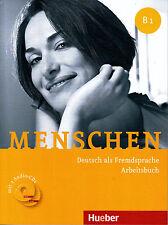 Hueber MENSCHEN B1 Arbeitsbuch mit 2 Audio-CDs Deutsch als Fremdsprache @NEW@