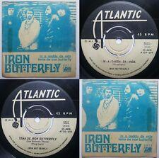 IRON BUTTERFLY IN-A-GADDA-DA-VIDA 1969 MONO UNIQ PS!!! MEGARARE CHILEAN PRESS!!!