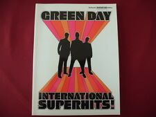 Green Day - International Superhits . Songbook Notenbuch Vocal Guitar