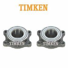Pair Set of 2 Rear Wheel Bearing Assemblies Timken fits Nissan 350Z Infiniti G35