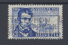1931 Switzerland used 30c Pro Juventute - Alexandre Vinet stamp (SG J59)