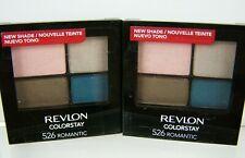 Revlon ColorStay Eye Shadow Quad #526 Romantic Lot of 2 Eyeshadow New Sealed