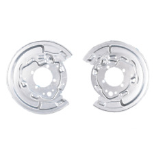 2x Toyota Avensis T25 rear parking brake disc splash guard panel backplate cover