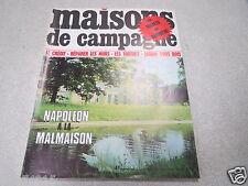 MAISONS DE CAMPAGNE N° 22 juin 1969 NAPOLEON A LA MALMAISON SECRET DU BARBECUE *