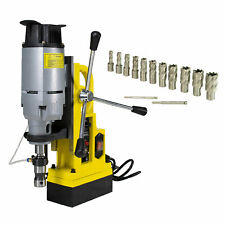 Steel Dragon Tools Md45 Magnetic Drill Press With 13pc 1 Hss Cutter Kit