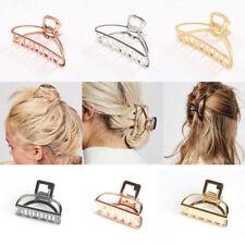 Women Fashion Hair Accessories Metal Modern Stylish Hair Claw Hair Clips Gifts