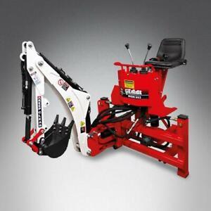 Heck-Bagger GIEMME MACHINERY BHM 95 für Traktoren von 15 bis 50 PS