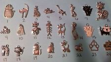 Pick From Any Cat Cute One Pair Of Cat Kitty Earrings,