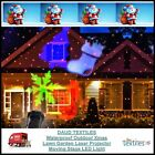 LED Waterproof Landscape Garden Laser Projector Moving Star Xmas Lawn Light