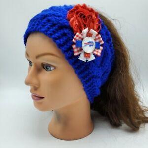Buffalo Bills Headband NFL Football Josh Allen Jim Kelly Earmuff Knit Headband