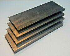 Custom Hot Metal HO Four Real Steel Slabs 2 1/2 x 1 x 1/4 Weigh 1.4 oz each