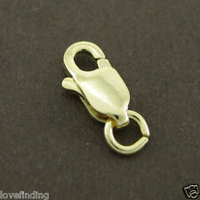 Genuine 18CT Solid Yellow Gold Parrot Clasp 8mm Italy Made