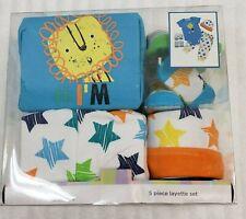 Little Wonders box set 3 - 6 months creeper socks cap pant unisex animal friends