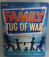 Marks & Spencer Family Tug Of War Quiz Board Game - Never Played
