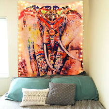 USA Mandala Elephant Tapestry Room Bedspread Wall Hanging Psychedlic Tapestries