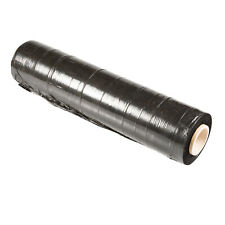 500mm x 400m Meter - 25U BLACK - Hand Stretch Film Pallet Shrink Wrap