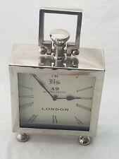 "49 Bond Street London Desk Shelf Mantel Clock 14"" Tall"