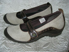MERRELL MARY JANE COMFORT WOMENS SHOES SZ 8 / 38.5 BROWN TAN LEATHER,,ADORABLE