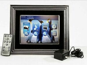 Vera Wang Wedgwood Love Noir 8-Inch LCD Silver plate Digital Photo frame
