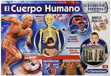 Juguete educativo del cuerpo humano. Ciencia y Juego. Clementoni. Ref. 55089