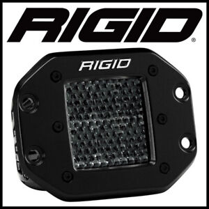 Rigid Industries Spot Diffused Midnight Flush Mount Pair D-Series Pro