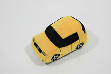 Yellow Scion xD Plush Stuffed Car Toy Near MINT Toyota RARE
