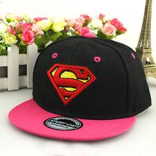 Superhero Unisex Baby Kids Hip Hop Baseball Cap Sun School Toddler Snapback Hats