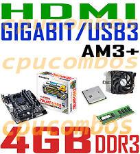 HTPC COMBO AMD Sempron 145 CPU+4GB DDR3 RAM+GIGABYTE HDMI USB 3.0 Motherboard