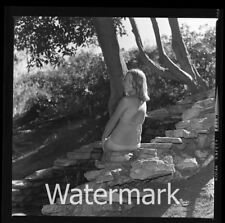 1970s Photo medium format negative  model Lady  in bikini #1