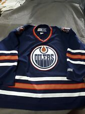 CCM NHL Edmonton Oilers Mens Hockey Jersey XXL Used Htf Authentic