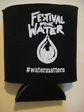 Beer Bottle Can Holder Koozie ~**~ FESTIVAL FOR WATER ~*~ www.WaterForPeople.org