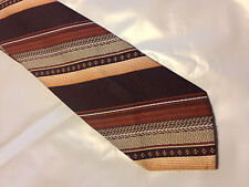 Mens Brown Red Tie Necktie LA BELLA~ FREE US SHIP (8930)